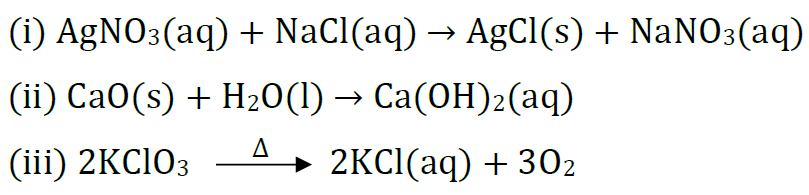 Class 10 Chapter 1 Chemical Reactions And Equations Extra Question 22