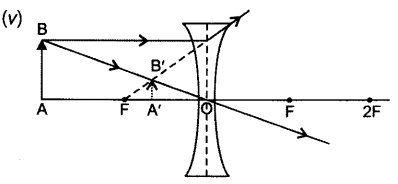 Class 10 Chapter 10 Light Reflection and Refraction Extra Question 52 v