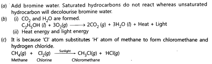 Class 10 Chapter 4 Carbon and its Compounds Extra Question 26