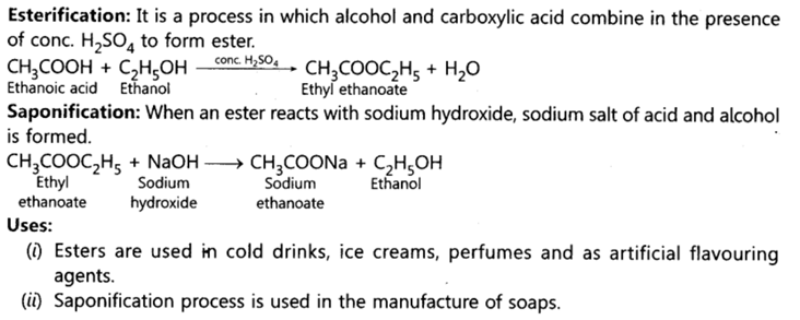 Class 10 Chapter 4 Carbon and its Compounds Extra Question 47