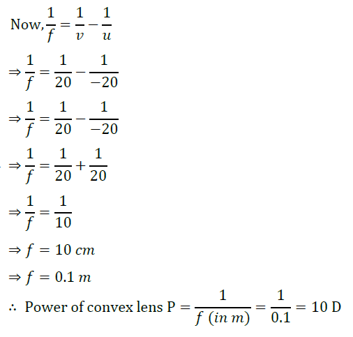 Class 10 Science Chapter 10 Light Reflection and Refraction Important Question 43