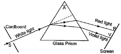 Class 10 Science Chapter 11 Human Eye and the Colourful World Important Question 20
