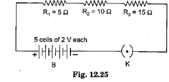 Class 10 Science Chapter 12 Electricity Important Question 21 i
