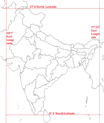 Class 9 Geography Chapter 1 India Size and Location Important Questions 3