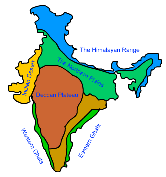 Class 9 Geography Chapter 2 Physical Features of India Important Questions 2