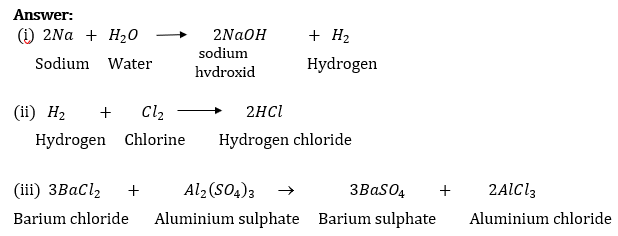 NCERT Solutions for Class 10 Science Chapter 1 Chemical Reactions and Equations image 2