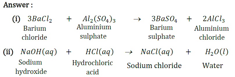 NCERT Solutions for Class 10 Science Chapter 1 Chemical Reactions and Equations image 3