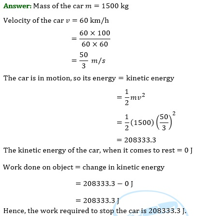 NCERT Solutions for Class 9 Science Chapter 11 Work and Energy part 8
