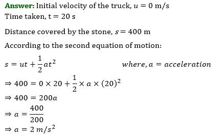 NCERT Solutions for Class 9 Science Chapter 9 Force and Laws of Motion part 2